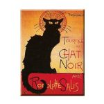 30 x 40 Black Cat Tournee Chat Noir Metal Sign Plaque IMPORTED FROM FRANCE